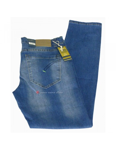 Jeans uomo skinny cotone...