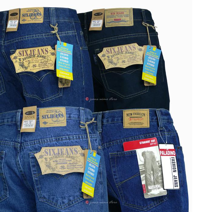 Da Uomo Vintage WRANGLER Jeans-Blu Stonewash Blu Medio Blu Scuro-Tutte le Taglie